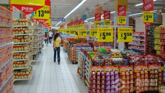 好又多超市豐富的產品區