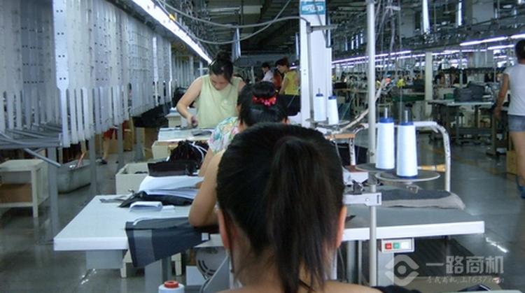 雅戈尔西服生产基地