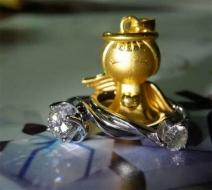 周大福珠宝钻戒系列