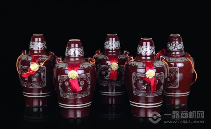 山西汾酒产品展示