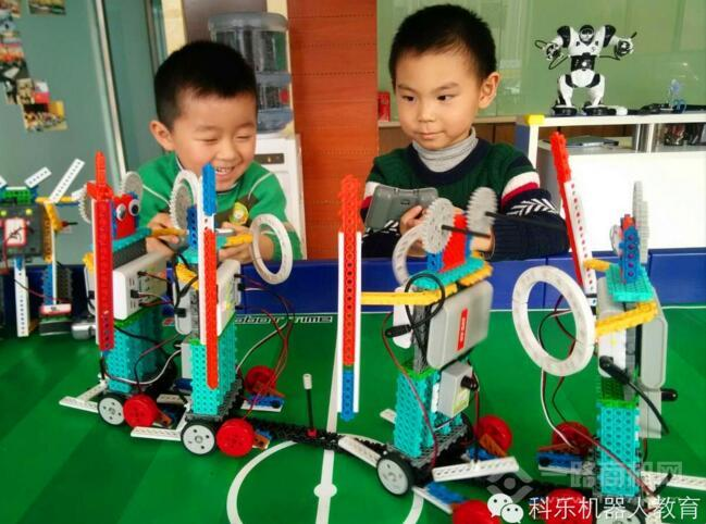 科乐机器人教育辅导培训