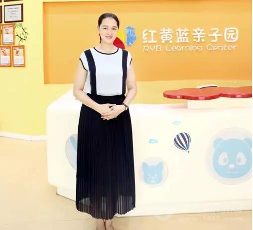 红黄蓝蒙城亲子园园长李梦琪