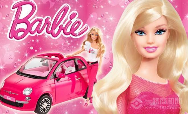 美泰玩具芭比娃娃