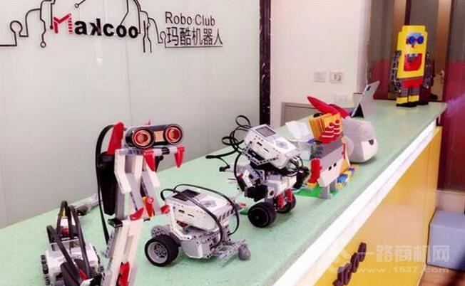 玛酷机器人加盟