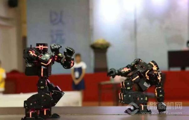 韩端机器人教育加盟