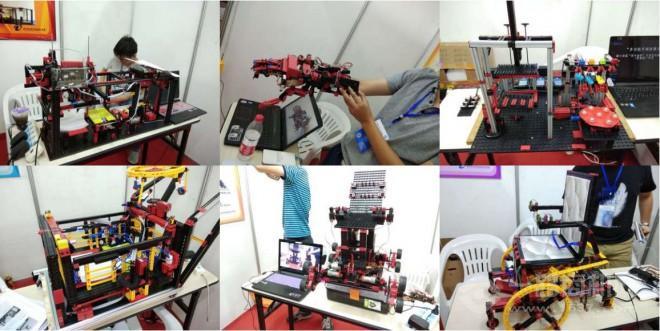 中教仪慧鱼机器人教育加盟