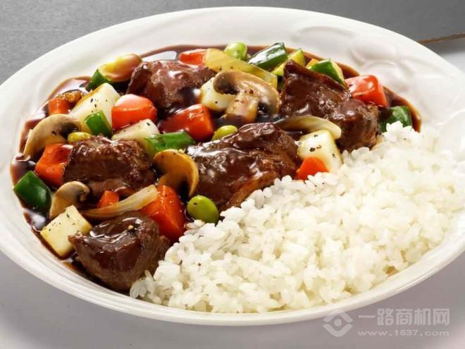 數上一蜀蜀香雞米飯