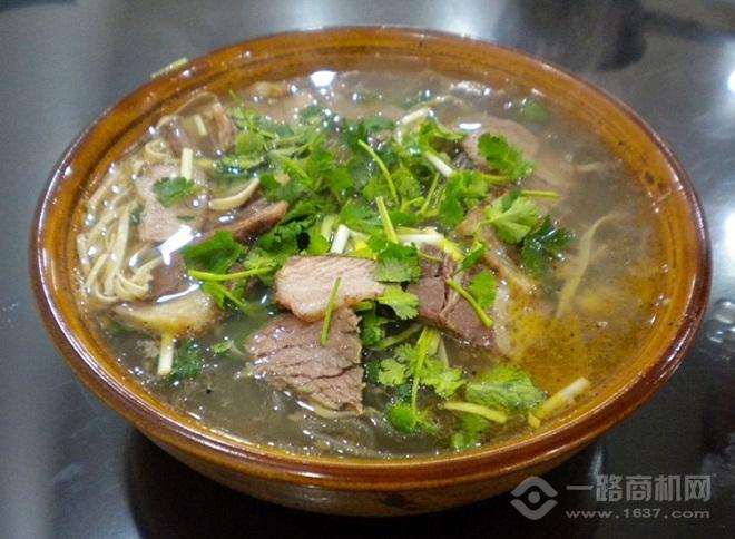 黄犇记牛肉汤加盟
