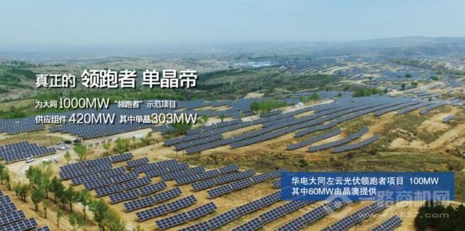 晶澳太陽能