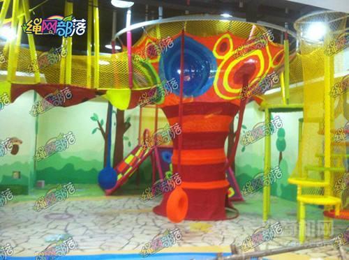 绳网部落儿童乐园加盟