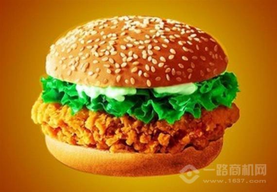 海狸堡贝炸鸡汉堡