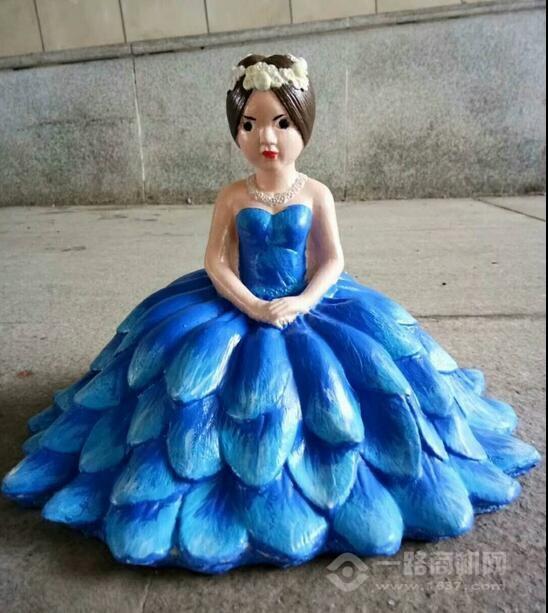 金林石膏像彩绘娃娃模具