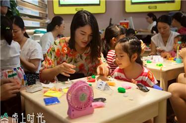 开桌上时光儿童DIY手工坊需要注意什么图片