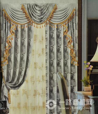 雪尼尔窗帘