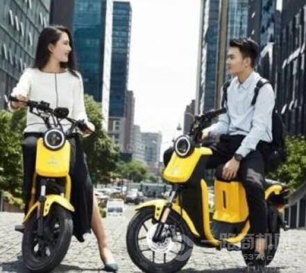 小遛共享电单车