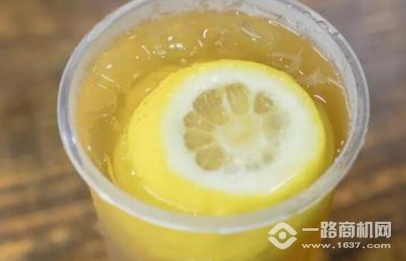 檸檬街奶茶