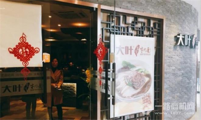 大叶台湾牛肉面加盟