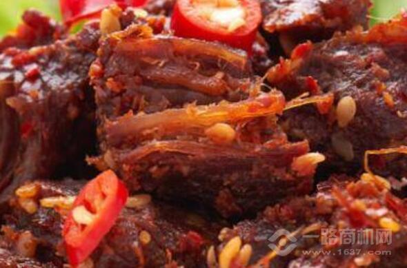 小卤锅牛肉干