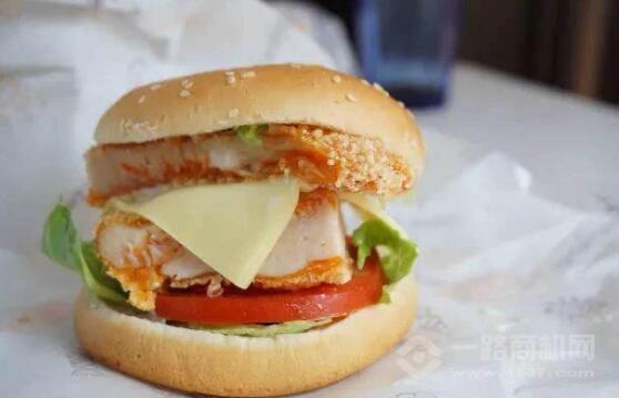 大廚星雞排漢堡