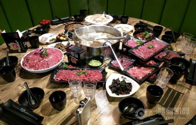 潮牛庄园鲜牛肉火锅