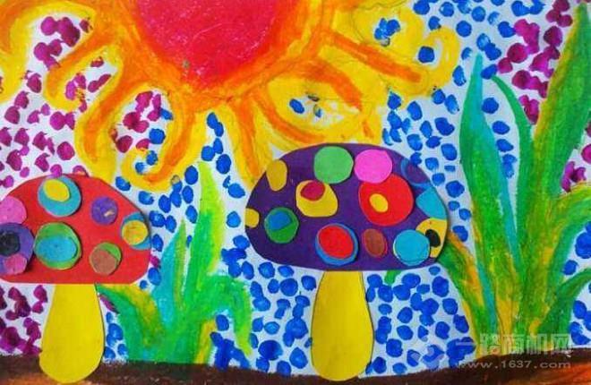 俏皮画儿童美术加盟