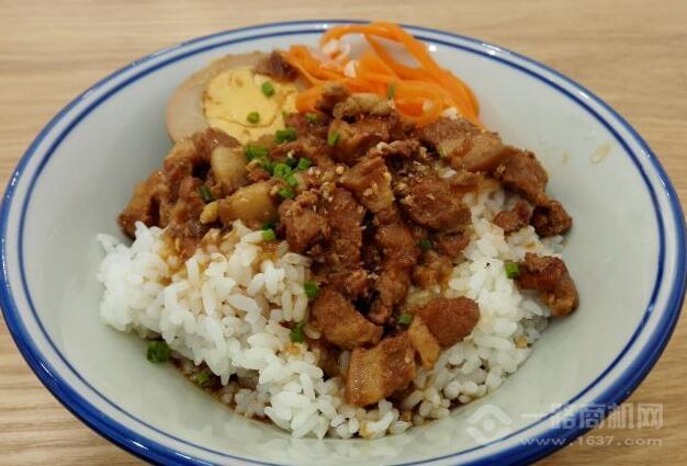 桔辰臺式鹵肉飯加盟