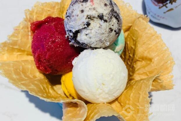 庫克山冰淇淋