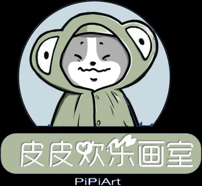 皮皮欢乐画室logo