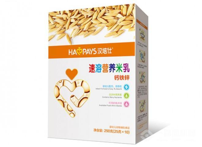 漢培仕速溶營養米乳加盟