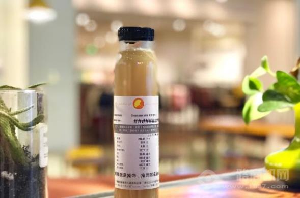 秋圃沙拉果汁