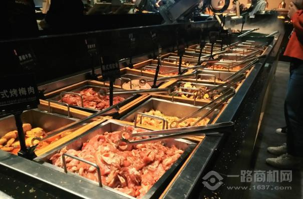 東盛碳烤自助料理加盟
