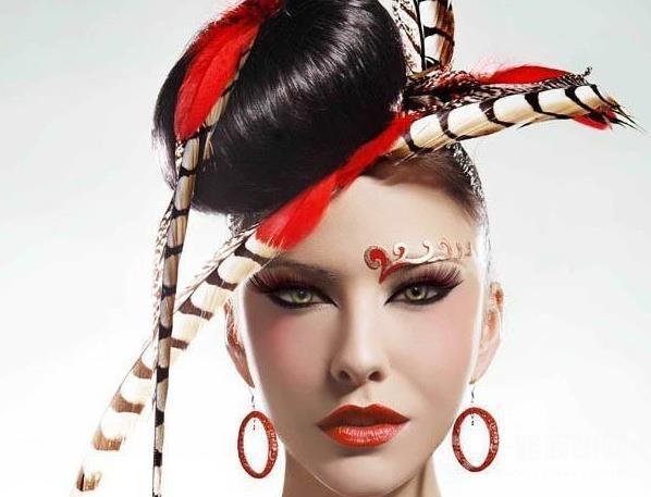 艾贝丽化妆造型培训