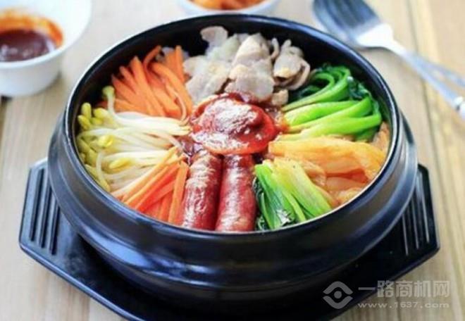 金达莱石锅拌饭加盟