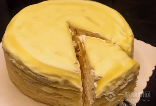 7cake榴莲千层蛋糕加盟