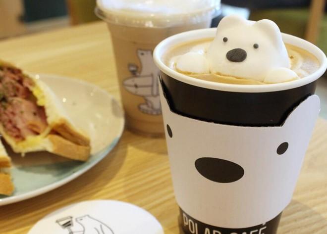 北極熊奶茶