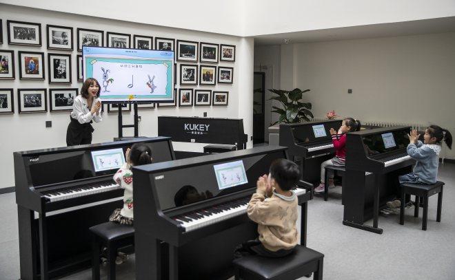 庫客智能鋼琴加盟