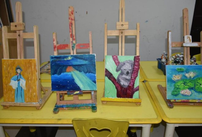 藝象標兒童創意美術加盟