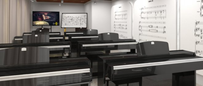 庫客智能鋼琴